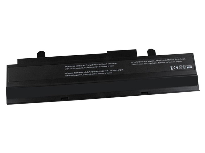 Powerwarehouse PWH-AS-1016P  6cells, Li-Ion notebook battery for EEE PC 1015, 1016, 1215 (BLACK)
