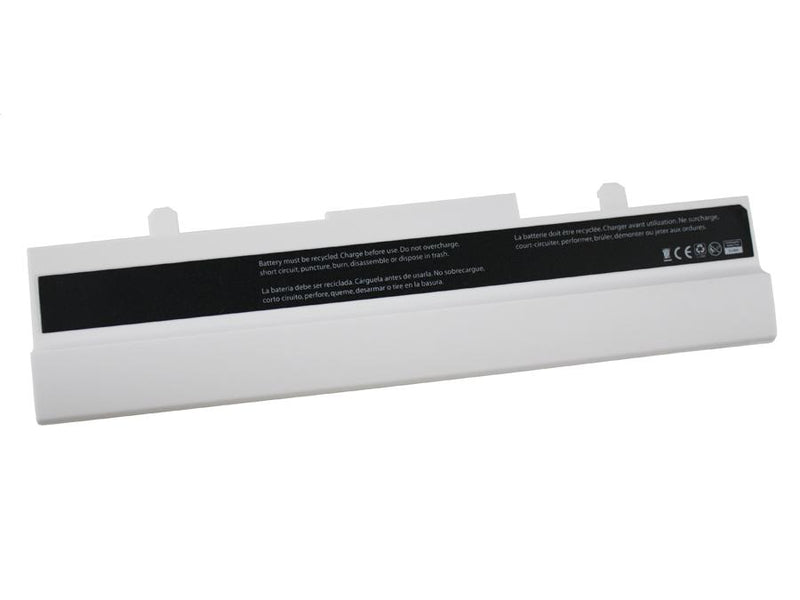 Powerwarehouse PWH-AS-EEE1005X3W  3cells, Li-Ion notebook battery for Eee PC1005, 1101 (WHITE)