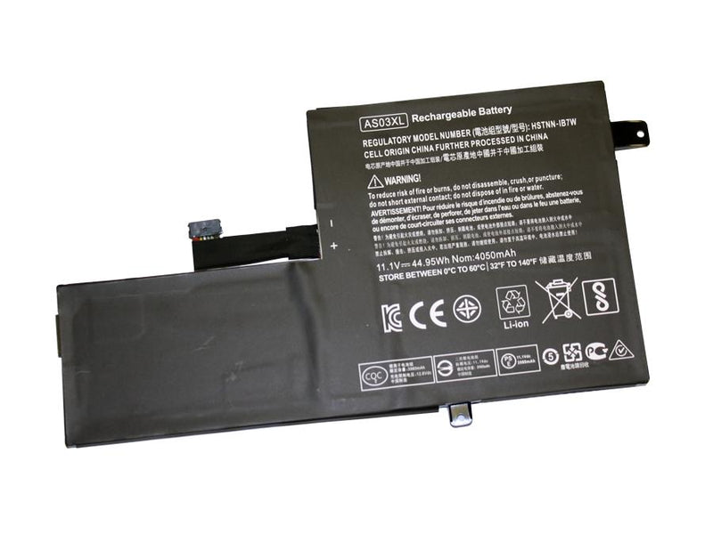 Powerwarehouse PWH-AS03XL 6-cell 11.1V, 4050mAh Li-Polymer Internal Notebook Battery for HP HP Chromebook 11 G5