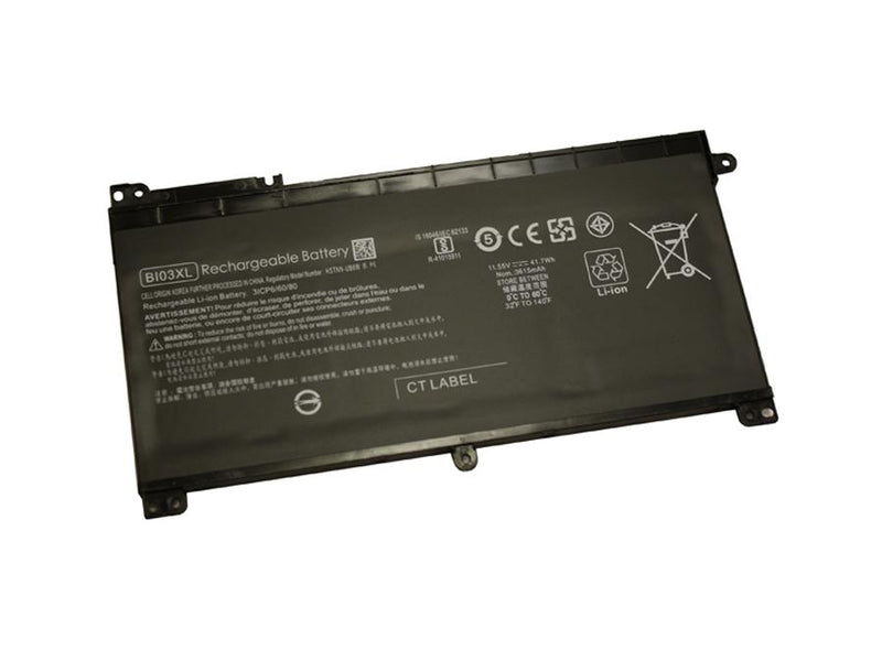 Powerwarehouse PWH-BI03XL 3-cell 11.5V, 3600mAh Li-Polymer Internal Notebook Battery for HP - COMPAQ HP Stream 14-AX, Stream 14-CB, Stream 14-DS
