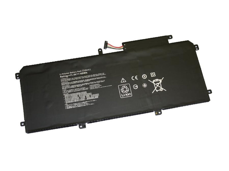Powerwarehouse PWH-C31N1411 3-cell 11.4V, 3947mAh LiPolymer Internal Notebook Battery for ASUS Asus Zenbook UX305