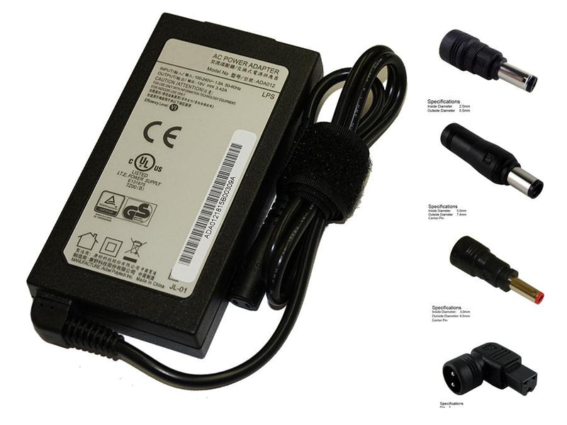 Powerwarehouse PWH-DELL65W-S-UNIV 19V, 65W AC Adapter for