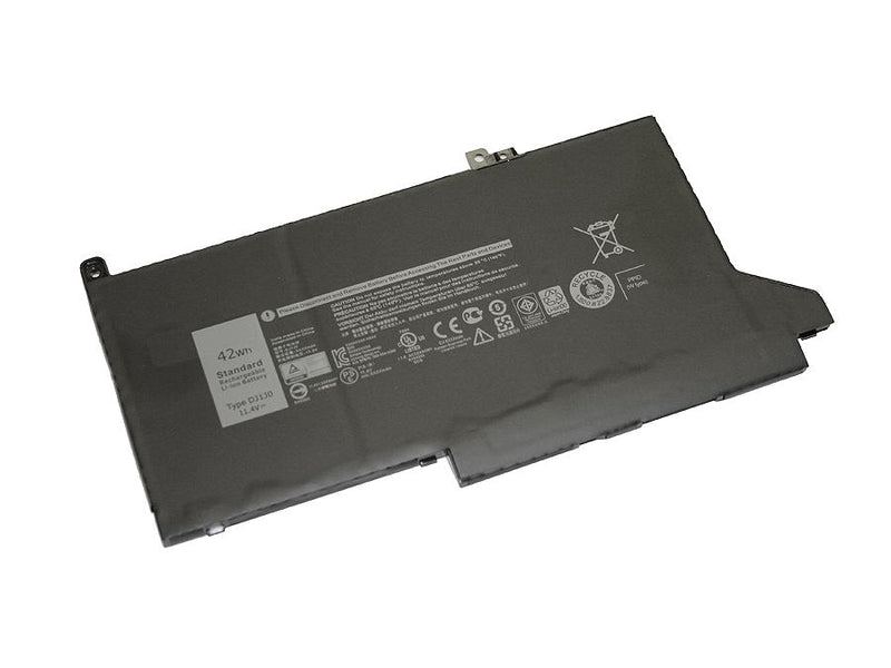 Powerwarehouse PWH-DJ1J0 3-cell 11.4V, 3500mAh Li-Ion Internal Notebook Battery for DELL Latitude 7480, 7280, 7490, 7390, 7380, 7290