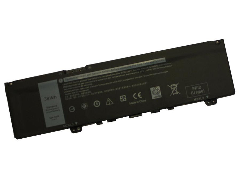 Powerwarehouse PWH-F62G0 3-cell 11.4V, 3166mAh Li-Ion Internal Notebook Battery for DELL Dell Inspiron 5370, 7370, 7373, 7386