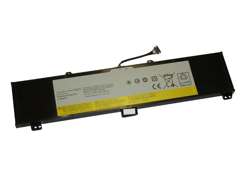 Powerwarehouse PWH-L13M4P02 4-cell 7.4V, 7400mAh Li-Ion Internal Notebook Battery for LENOVO Lenovo Y50-70, Y50-80 series