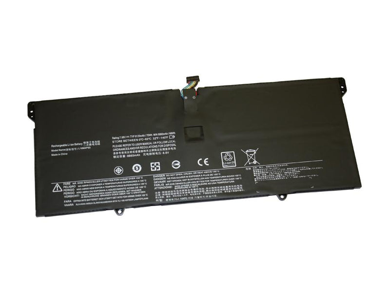 Powerwarehouse PWH-L16C4P61 4-cell 7.68V, 9120mAh Li-Polymer Internal Notebook Battery for LENOVO Lenovo Yoga 920 13, 920 13IKB, 920 13IKB 80Y7, 920 13IKB 80Y8
