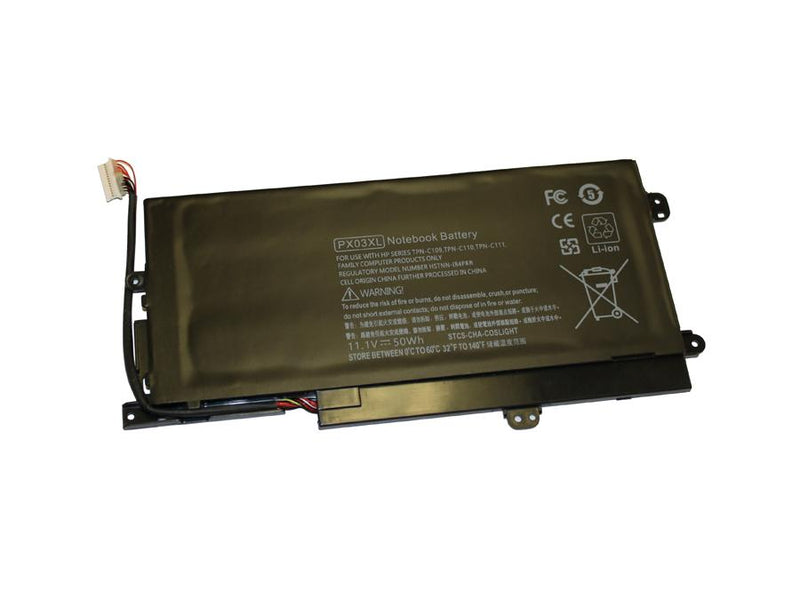 Powerwarehouse PWH-PX03XL 3-cell 11.1v,4350mAh Li-Ion Internal Notebook Battery for HP HP Envy Sleekbook Laptops, Specific models of HP Envy M6-K Laptops