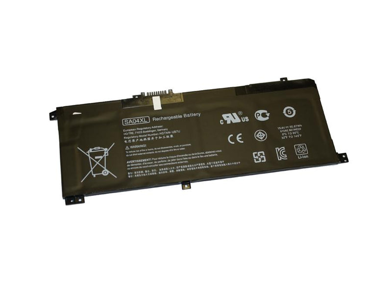 Powerwarehouse PWH-SA04XL 4-cell 15.4V, 3470mAh LiPolymer Internal Notebook Battery for HP HP Envy X360 15-DR, Envy X360 15-DS