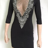 On Sale BIG V SEXY DOT HOT DRESS