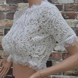 On Sale FASHION HOT LACE TOP