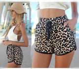 HOT LEOPARD SHORTS