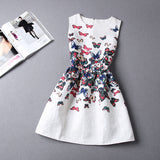 HOT 3D PRINT DRESS SLEEVELESS VEST MUTI SKIRT