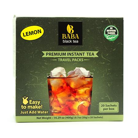 Black Tea with Lemon - 20 Pack