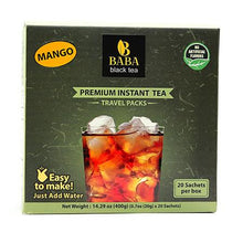 Load image into Gallery viewer, Black Tea with Mango - 20 Pack