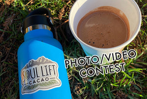 Win Ceremonial Cacao in Our Photo/Video Contest!