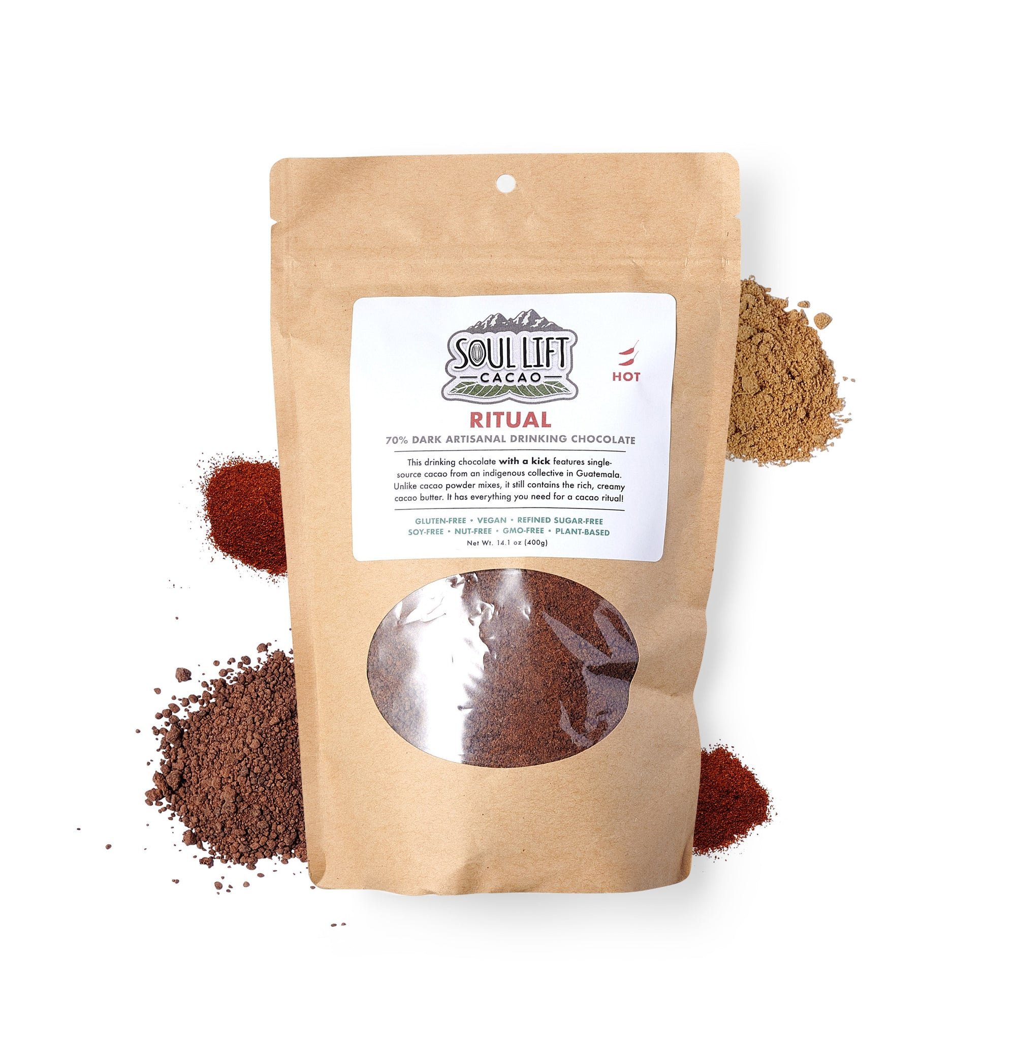 Ritual 70% Dark HOT Spice Drinking Chocolate Mix