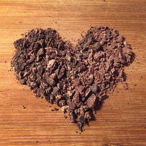 Heart of the Earth (Ruk'u'x Ulew) 100% Pure Ceremonial Cacao Paste Block