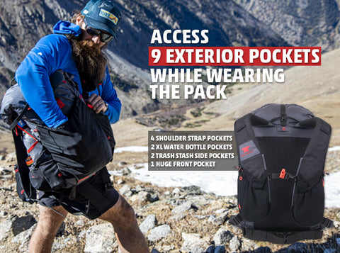 ZERK 40 Access 9 pockets