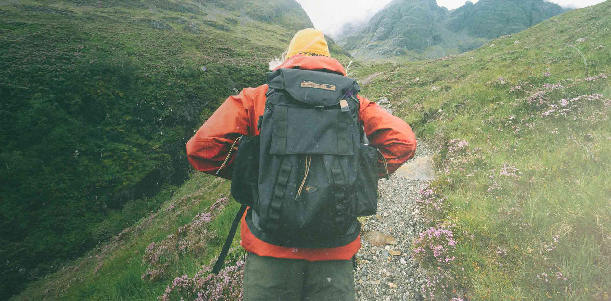 Hiking with Mountainsmith Backpack - Words We Live By