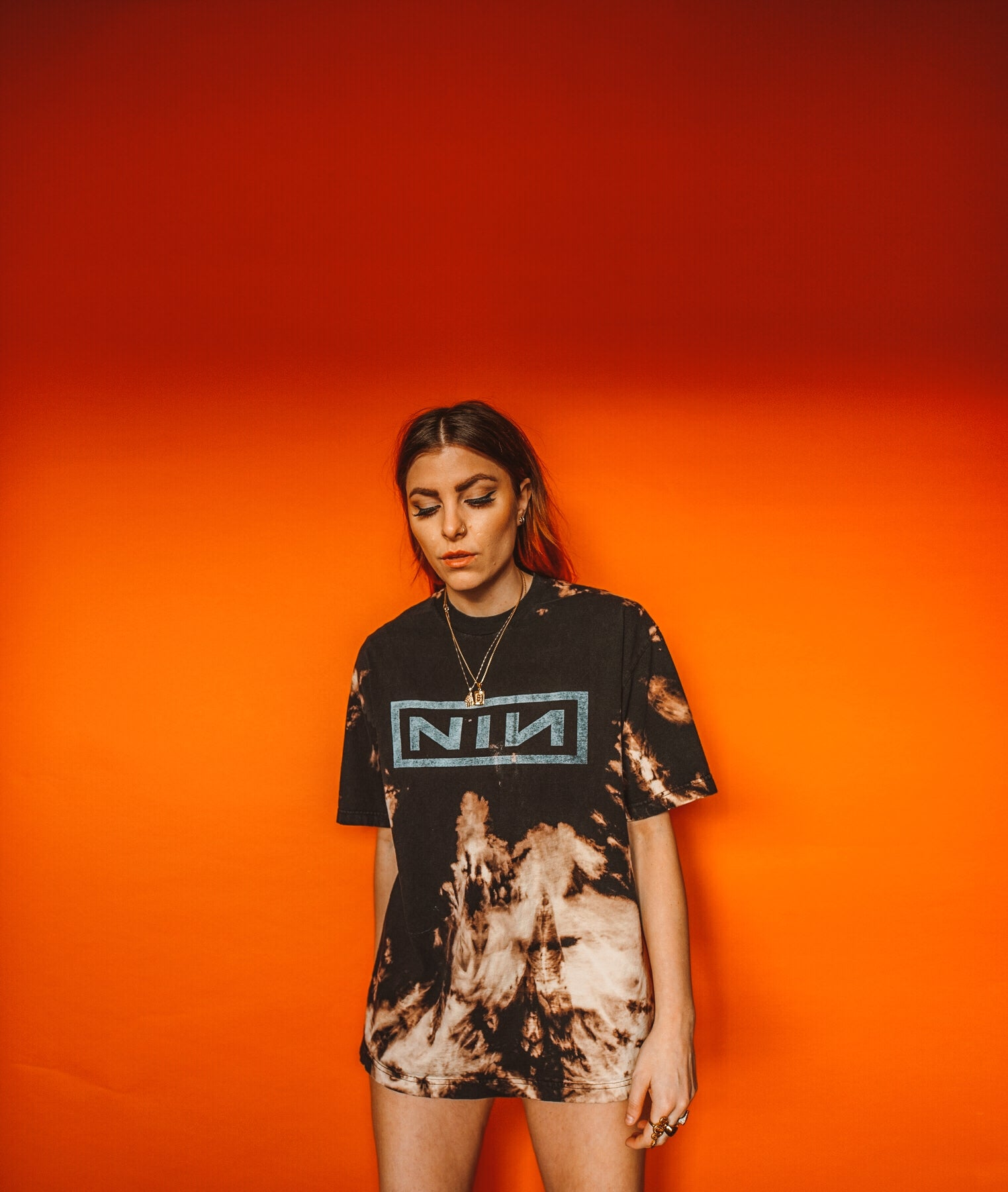 Nine Inch Nails Bleached Tee