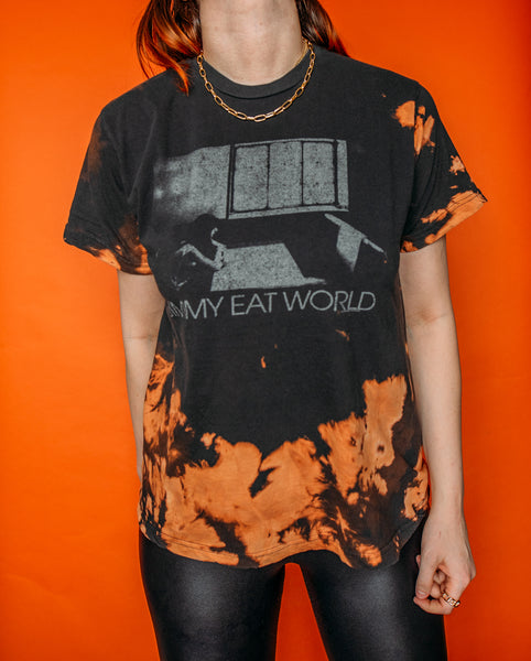 Jimmy Eat World Bleached Tee
