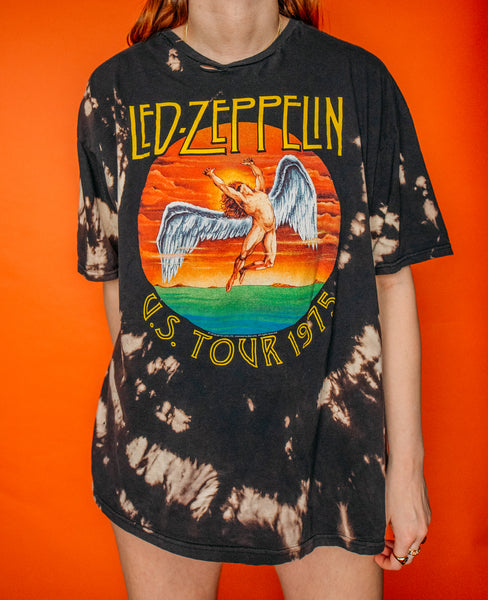 Led Zeppelin Bleached Tee