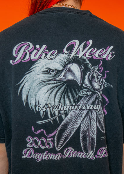 Bike Week Rose Tee