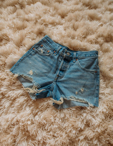 Flame Pocket High-Waisted Shorts Size (0)