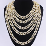 Iced Out Gold Miami Cuban Link