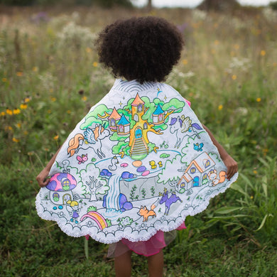 Colour Princess Cape with markers