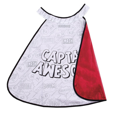 Colour Superhero Cape with markers