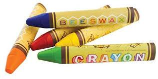 24 Bee Brilliant Crayons - Ergonomically Shaped for Small Hands!