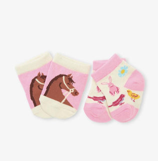 Country Living Baby Socks