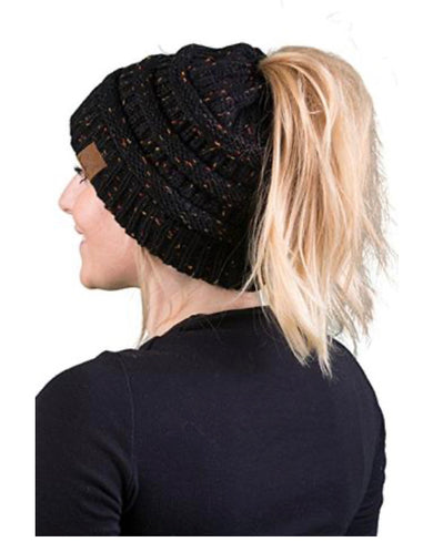 Messy Bun/Pony Hats-Adults