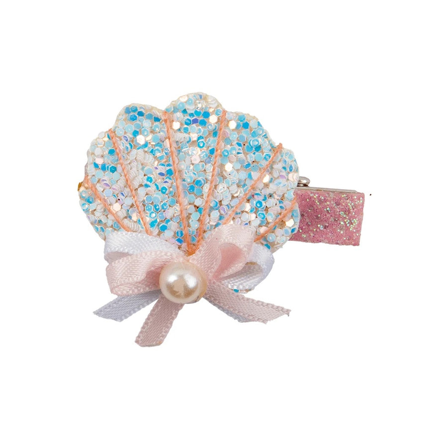 Mermaid Shell hair clip