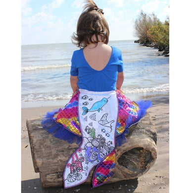 Colour a Mermaid Skirt
