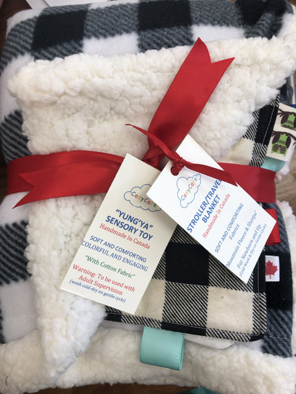 CC Stroller/Travel Blanket Gift Pack