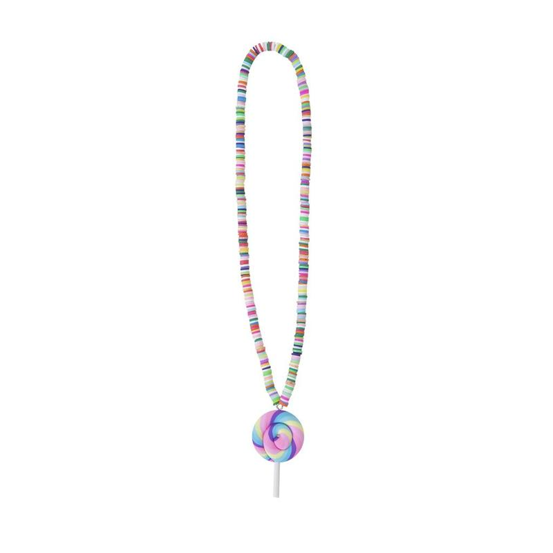 Rainbow / Lolly Necklace Pendant