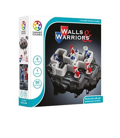 Walls and Warriors  - Smart Games 1 Player Puzzle Game 8 to Adult