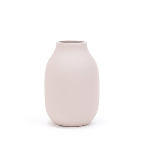 Colora vase rose dust small