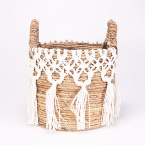 J35 Macramé basket Small