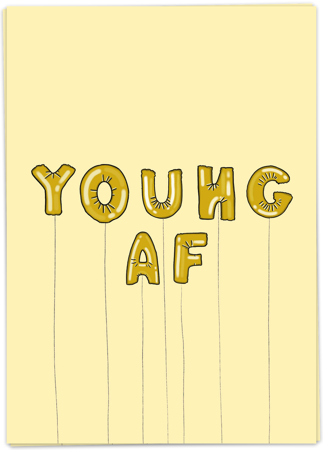 Kaart Blanche - Young AF