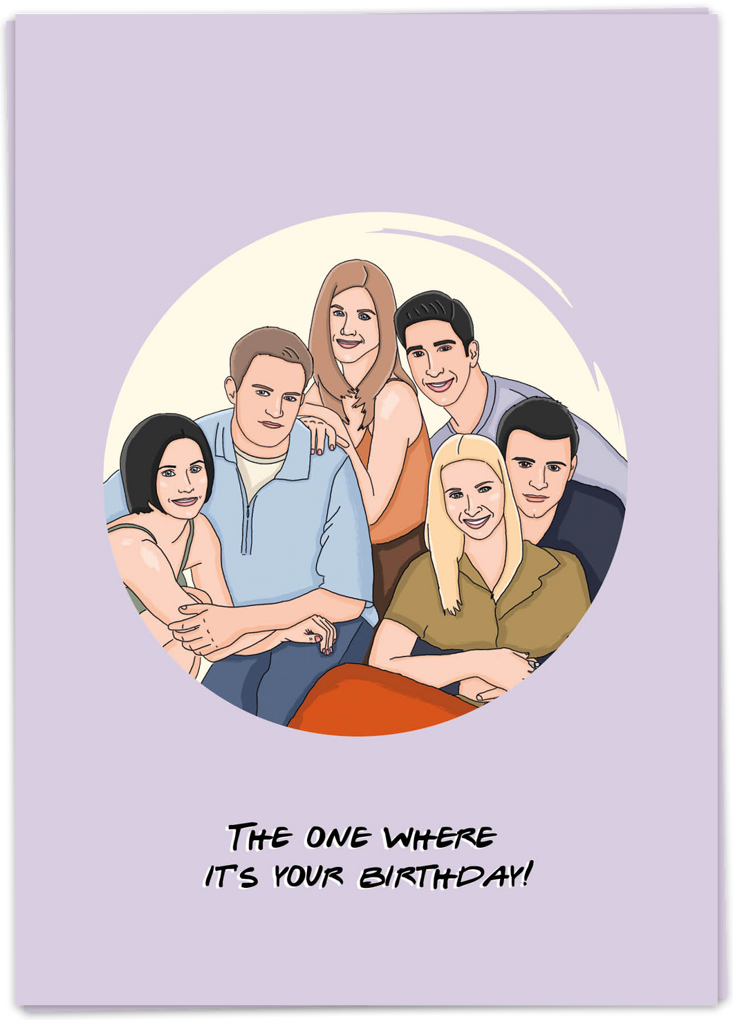 Kaart Blanche - The one where it is your birthday