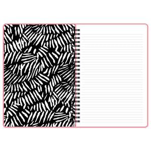 Pink notebook shout out loud