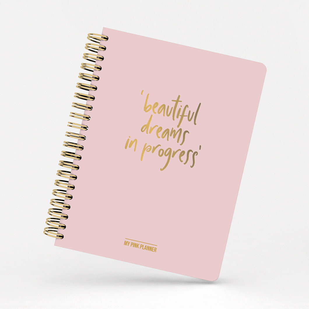 The pink planner