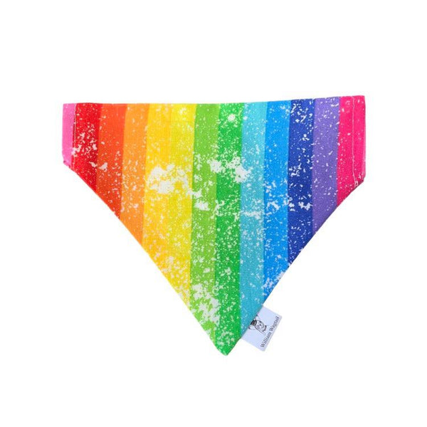 Vintage Rainbow Slip-On Bandana - William Wagtail