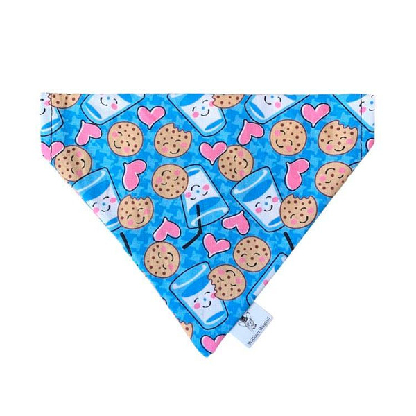 Milk and Cookies Slip-On Bandana - William Wagtail