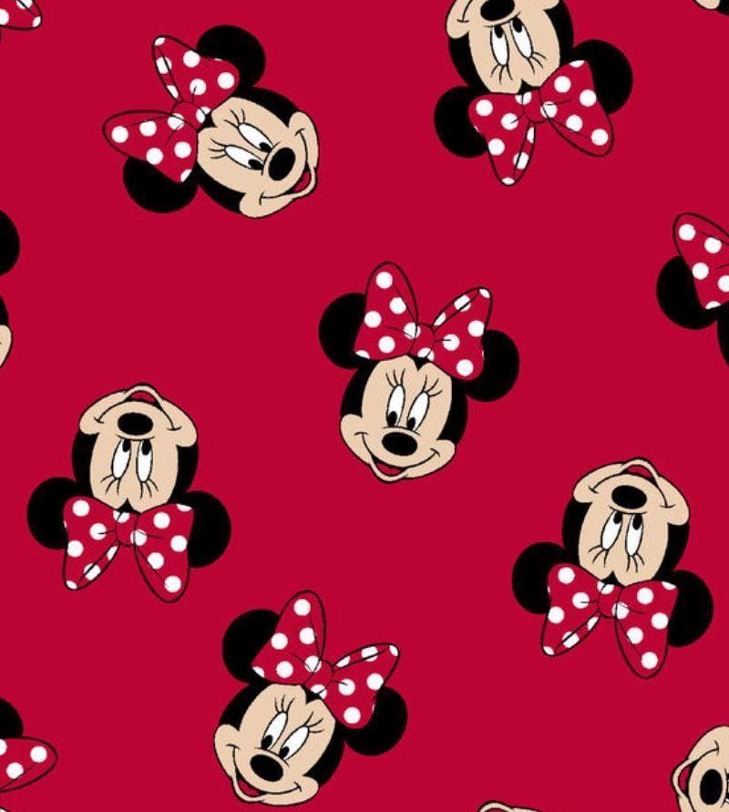 Classic Minnie Mouse Bandana - William Wagtail