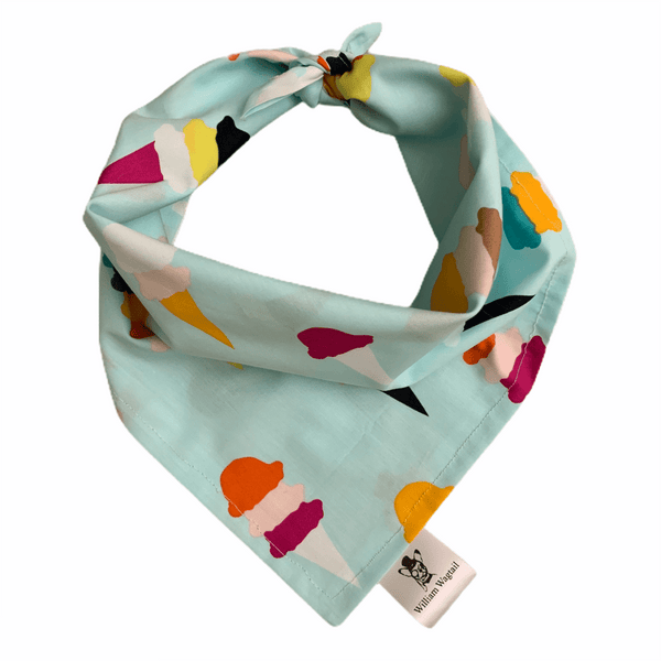 Ice Cream Galore Bandana - William Wagtail