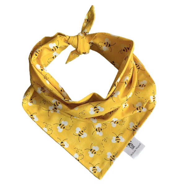 Busy Bee Bandana - William Wagtail